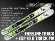 ★ショートスキー板 ELAN【14/15・FREELINE TRACK + ESP 10.0 TRACK PM】125cm、135cmビンディングとの2点セット!!