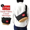 Manhattan Portage マンハッタンポーテージ Suede Fabric Casual Messenger Bag スエードファブリック カジュアル メッセンジャー バッグ Sサイズ ( メッセンジャーバッグ ショルダー バッグ メンズ レディース MP1605JRSD12 ) 10P27May16