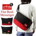 Manhattan Portage マンハッタンポーテージ Flat Bush Messenger Bag フラット ブッシュ メッセンジャー バッグ Mサイズ ( メッセンジャーバッグ ショルダー バッグ メンズ レディース MP1631 ) 10P27May16