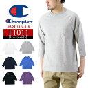 Champion チャンピオン T1011 ラグラン 3/4 スリーブ 7分袖 Tシャツ / メンズ トップス MADE IN USA アメリカ製 無地 C5-P404