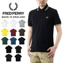 FRED PERRY フレッドペリー The Original Twin Tipped Fred Perry Shirt ザ オリジナル ツイン ティップ フレッドペリー ポロシャツ / メンズ トップス 半袖 Made in ENGLAND 英国製 M12N