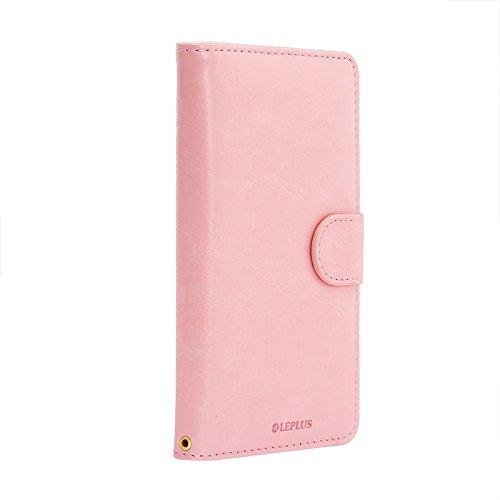 iPhone6s Plus / iphone6 plus 手帳型 ケース PUレザー LEPLUS「BOOK A」 ピンク LP-I6SPLBAPK /在庫あり/ スマホケース アイフォン6s プラス シックスエス