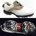 【送料無料】フットジョイ レディースゴルフシューズ FJ リールフィット ホワイト/トープ 93811