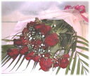 【送料無料】赤のバラの花束【HR020】