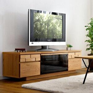 《送料無料》 日本製 テレビ台 150 完成品 ウォールナ
