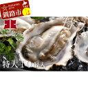 【ふるさと納税】生牡蠣10個入(釧路管内産特大サイズ120g...