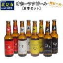 【ふるさと納税】【A5-002】オホーツクビール8本セット...