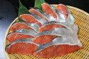 【ふるさと納税】オホーツク産 新巻鮭切身 約2kg(約100...