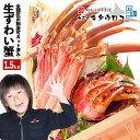 【ふるさと納税】お刺身でも食べられる本ずわいかにしゃぶ詰め合わせ1.5kg B-25002...