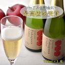 【ふるさと納税】ふかがわシードルフルボトル(750ml×3本)【果実酒 シードル 北海道 りんご 中口 酒】