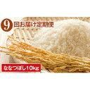 ショッピングkg 【ふるさと納税】◆9ヶ月連続定期便◆JAきょうわ米 ななつぼし10kg 【定期便・お米】
