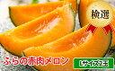 【ふるさと納税】ふらの赤肉メロン【検選】Lサイズ2玉セット ...