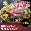 【ふるさと納税】☆特選☆生ラム600g(タレ付) (容量:肉...