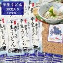 【ふるさと納税】半生うどん 30食入り(つゆ付) 【麺類・う...