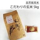 【ふるさと納税】北海道厚真町産 農薬不使用・自然栽培米 角田玄米 5kg(ほしのゆめ)《先行予約》