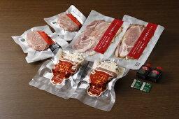 【ふるさと納税】A41-4 豚丼・ハンバーグセットA