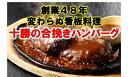 ショッピングレシピ 【ふるさと納税】A041-7十勝の合挽ハンバーグ5人前