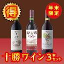 【ふるさと納税】A01-4 十勝ワイン年末限定セット