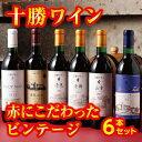 【ふるさと納税】C01-1 十勝ワイン赤にこだわったビンテー...