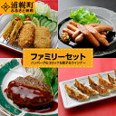 【ふるさと納税】ファミリーセット ハンバーグ&コロッケ&餃子...