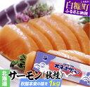 【ふるさと納税】北海道サーモン刺身