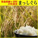 【ふるさと納税】鰺ヶ沢町 29年産米 まっしぐら〔白米〕(5Kg×2袋)