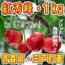 【ふるさと納税】さくらんぼ「紅秀峰」2L玉・約1kg【並び詰...
