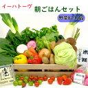 【ふるさと納税】花巻産イーハトーヴ朝ごはん野菜セット
