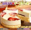 【ふるさと納税】A007 【いわて・久慈 山ぶどうの里から】山ぶどうWチーズケーキ(直径12cm)