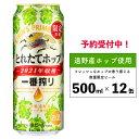 【ふるさと納税】一番搾りとれたてホップ生ビール500ml×12缶と新米2パックセット