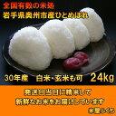 人気沸騰の米 岩手県奥州市産ひとめぼれ 白米 玄米も可24kg