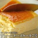 【ふるさと納税】チーズケーキ専門店のスプーンで食べるクリームチーズケーキ7号