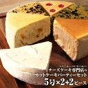【ふるさと納税】チーズケーキ専門店のカットケーキパーティーセ...