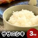 【ふるさと納税】いしのまき産米「ササニシキ」(精米)3kg