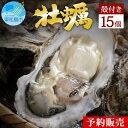 【ふるさと納税】<予約>奥松島産極上旨牡蠣(殻付き・15個)<2021年11月~順次発送> 宮城県 生かき 殻付きかき