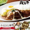 【ふるさと納税】No.022 蔵王牛ハンバーグの煮込みカレー...
