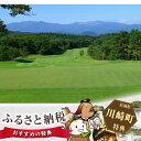【ふるさと納税】No.062 杜の公園ゴルフクラブ 平日ペアゴルフ利用券