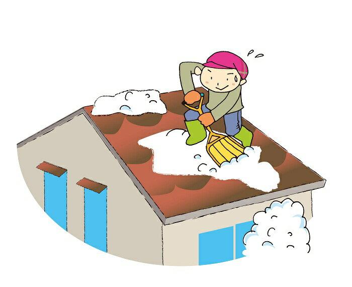 【ふるさと納税】F7701 屋根の雪下ろし代行サービス(作業員3名)