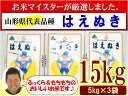 【ふるさと納税】H30年産米_お米マイスター厳選米(米沢産は...