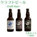 【ふるさと納税】クラフトビール3種セット_330ml×3本_地ビール_ペールエール_セッションIPA...