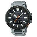 【ふるさと納税】E-45 CASIO腕時計 PRO TREK 「PRX-8000T-7AJF」★果物付き★