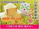 【ふるさと納税】A-587 30年産[精米]つや姫25kg(...