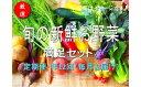 【ふるさと納税】No.1005 大人気!旬の新鮮お野菜 満足セット(詰め合わせ)【定期便12回】