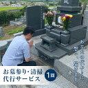【ふるさと納税】玉川村のお墓参り・清掃代行サービス(1回)