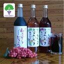 【ふるさと納税】くずまきの特産品セット2(山ぶどうジュース、高原ジュース赤・白)