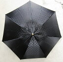 BL15_雪華模様の折り畳み傘(サイズ60cm)カラー:ブラック かさ/メンズ/レディース/おしゃれ