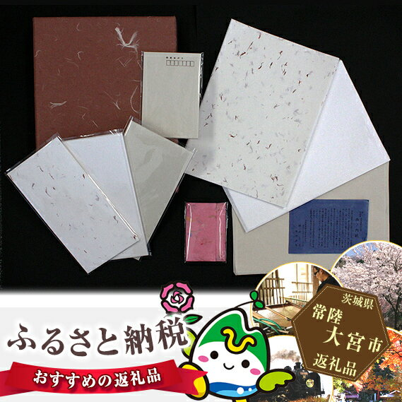 【ふるさと納税】No.018 西の内紙 便箋封筒セット