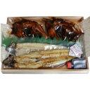 【ふるさと納税】霞ヶ浦名産水郷の味セット うなぎ白焼 鯉うま煮セット