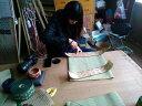 【ふるさと納税】畳工場見学と手縫いミニうすべり製作体験(1名分)