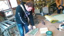【ふるさと納税】畳工場見学とインテリアミニ畳製作体験(1名分・2枚)